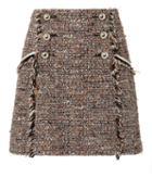 Veronica Beard Starck Mini Skirt Multi Zero