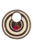 """sophie Anderson Adorada Cutout Circle Straw Medium Shoulder Bag"""