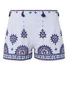 Talitha Embroidered Tassel Shorts