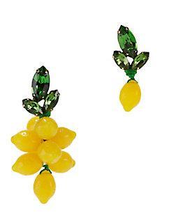 Auden Mismatched Lemon Earrings