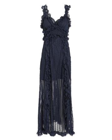 Stevie May Avignon Midi Dress Navy P