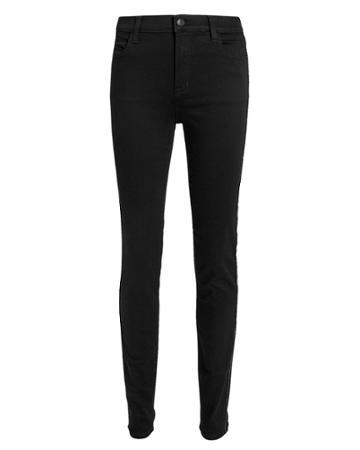 J Brand Maria Photo Ready Admiration High-rise Jeans Black 25