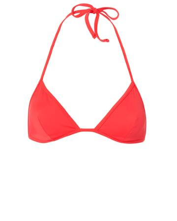Solid & Striped Wendy Red Triangle Bikini Top Red P
