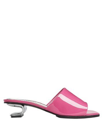 Nicole Saldana Alyssa Clear Heel Sandals Pink 36