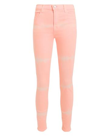 J Brand Shockwave Alana High Rise Jeans Blush Denim 26