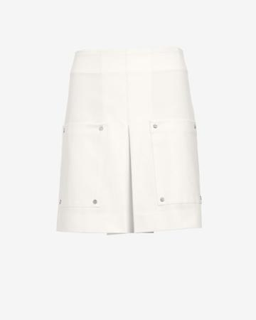 Veronica Beard A-line Double Patch Pocket Skirt