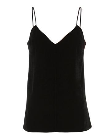 Intermix Velvet Front Camisole