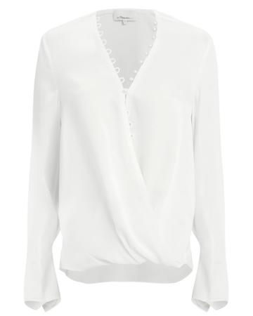 3.1 Phillip Lim Pearl Embellished Blouse White 2