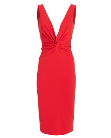 Katie May Zaza Midi Dress Red L