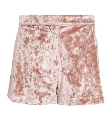 Alexis Kelis Velvet Shorts Blush M