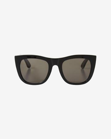 Super Sunglasses Gals Matte Black Sunglasses