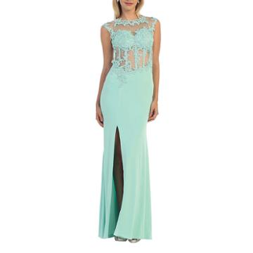 Semi Formal Long Stretchy Dress