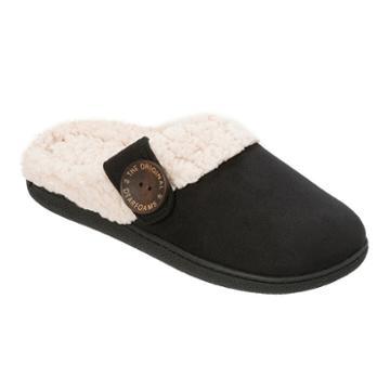Dearfoams Button Clog Slippers