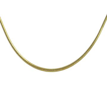 Not Applicable 18k Gold Over Silver 24 Inch Chain Necklace