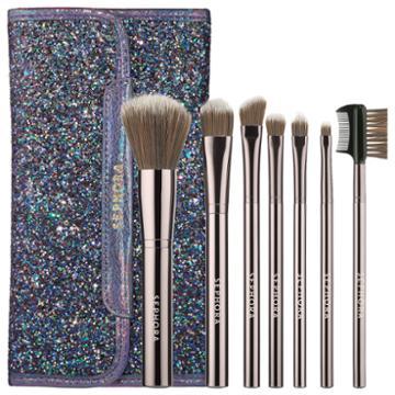 Sephora Collection Dark Rainbow Antibacterial Brush Set