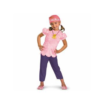Buyseasons Disney Jake And Never Land Pirates Izzy 4-pc. Dress Up Costume