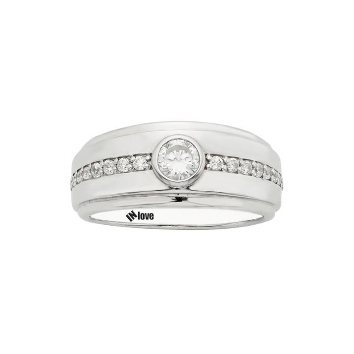 In Love 1/2 Ct. T.w. Diamond 14k White Gold Wedding Band