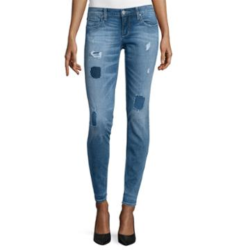 Arizona Patch Skinny Jeans