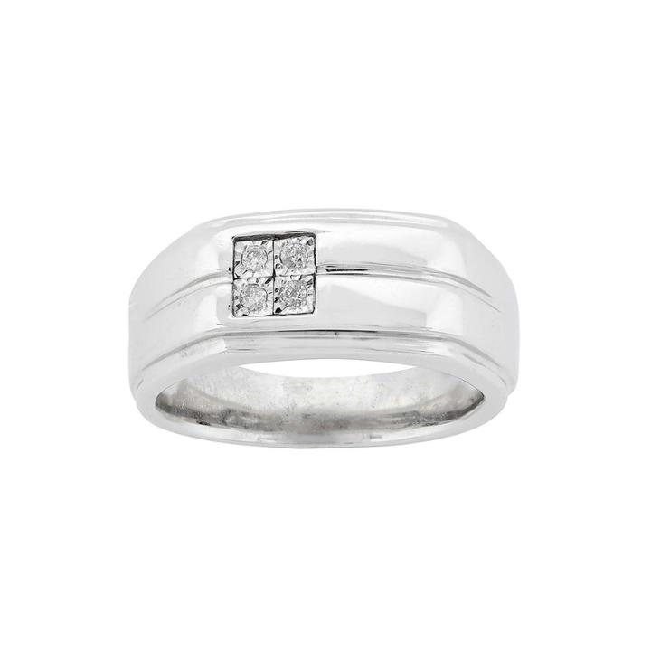 Diamond Accent Sterling Silver Ring