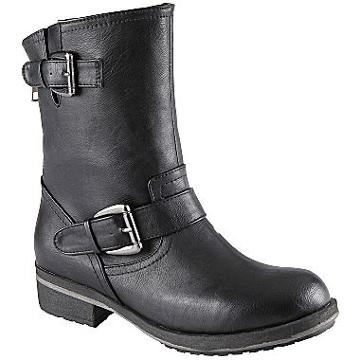 Call It Spring Majestic Motorcyle Boots  Black