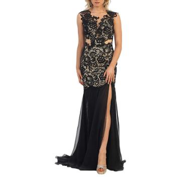 Hot Long Sweet 16 Dress With Thigh High Slit