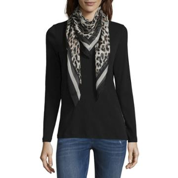 Mixit Square Leopard Scarf