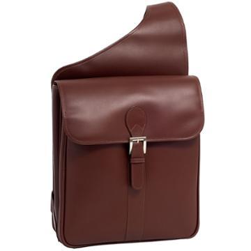 Mckleinusa Sabotino 14 Leather Vertical Messenger Bag