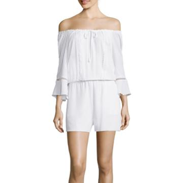 A.n.a Off-the-shoulder Romper
