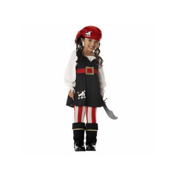Buyseasons Precious Little Pirate 4-pc. Dress Up Costume