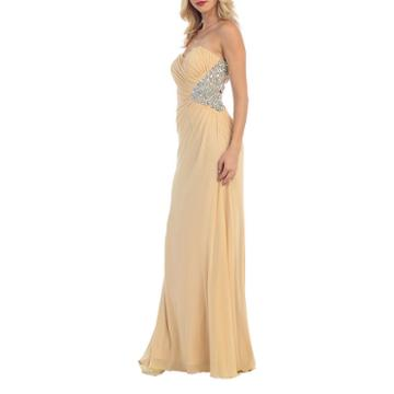 Strapless Special Occasion Evening Gown