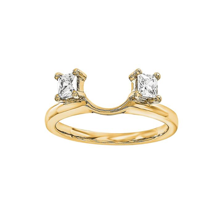 14k Yellow Gold 1/3 Ct. T.w. Diamond Ring Enhancer