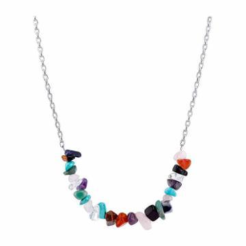 Bridge Jewelry Womens Multi Color Pendant Necklace
