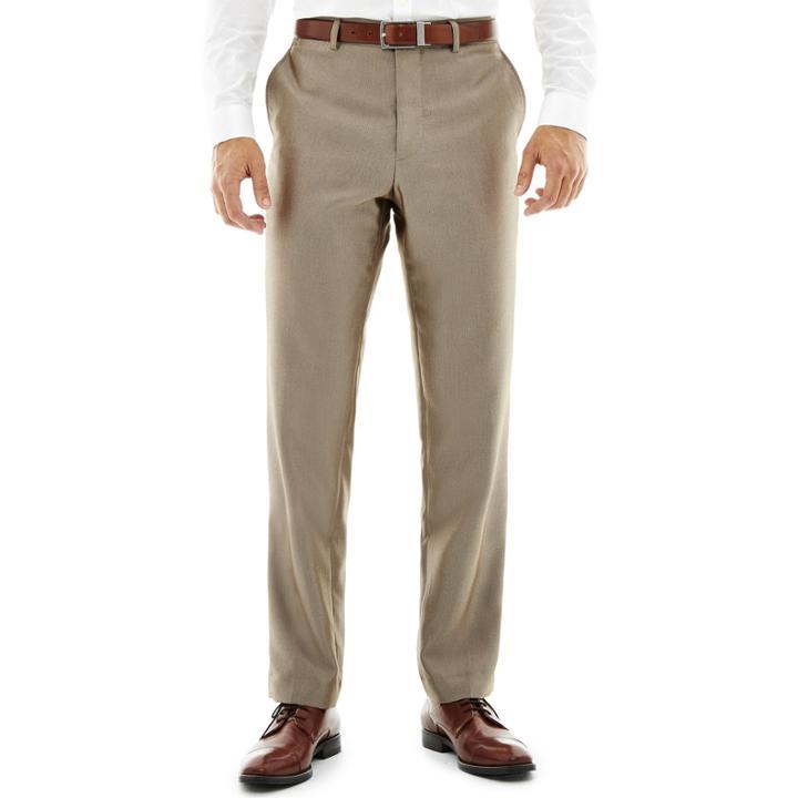bcc45a1e7de7 Jf J.ferrarJf J. Ferrar Slim-fit Flat-front Luster Herringbone Suit Pants