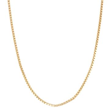 Not Applicable 18k Gold Over Silver 16 Inch Chain Necklace