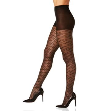 Berkshire Hosiery Bold Diamond Pantyhose-plus