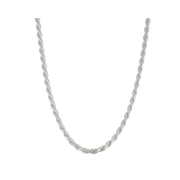 Not Applicable Sterling Silver 22 Inch Chain Necklace
