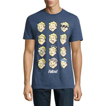 Fallout Faces Ss Tee
