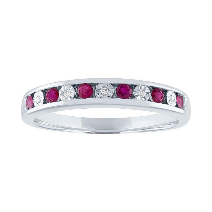 Modern Bride Gemstone Womens Genuine Stone Multi Color Engagement Ring