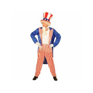 Buyseasons Uncle Sam 4-pc. Dress Up Costume