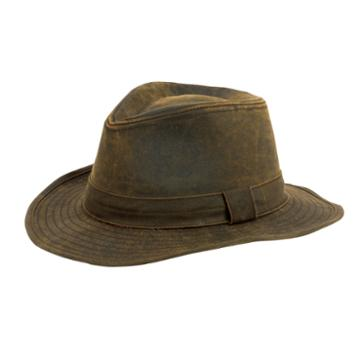 San Diego Hat Company Mens Distressed Fedora