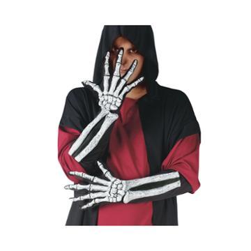 Skeleton Glove And Wrist Bone (adult) Gloves