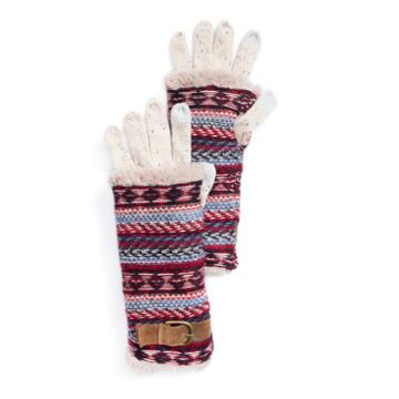 Muk Luks Knit Cold Weather Gloves