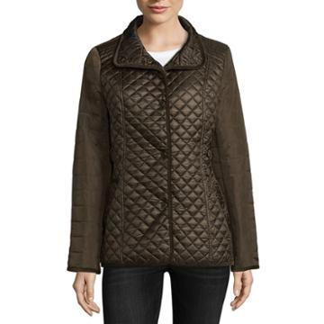 Miss Gallery Quilted Jacket