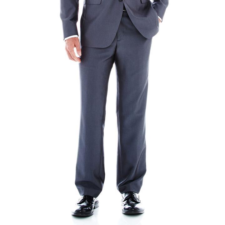 6c84bcf7c932 Jf J.ferrarJf J.ferrar Gray Luster Herringbone Suit Pants-classic Fit