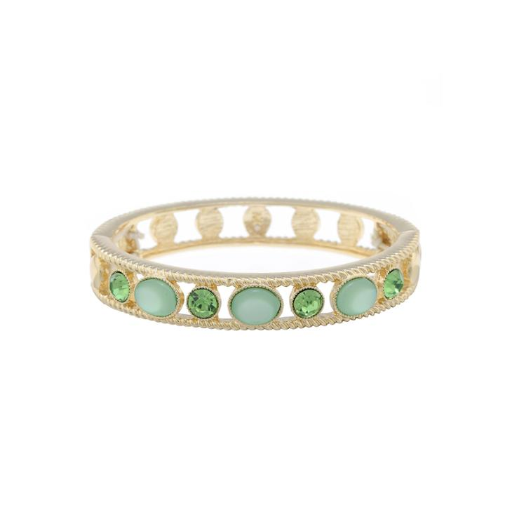 Monet Jewelry Womens Green Jewelry Set