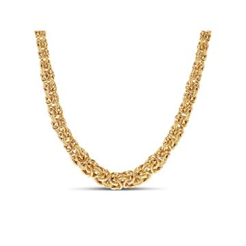 Not Applicable 18k Gold Over Silver 18 Inch Chain Necklace
