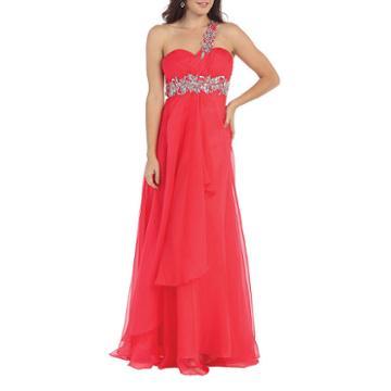 Semi Formal Long Formal Dress