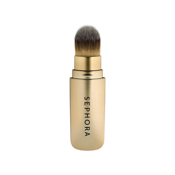 Sephora Collection Hide And Sleek Skinny Foundation Retractable Brush