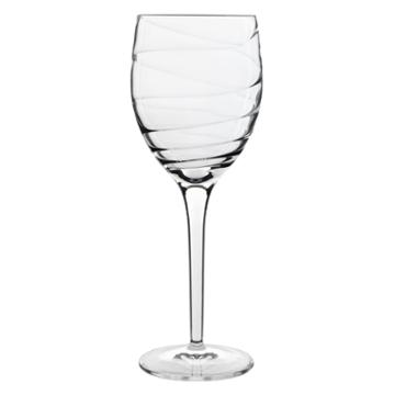 Luigi Bormioli Set Of 4 Romantica White Wine Glasses