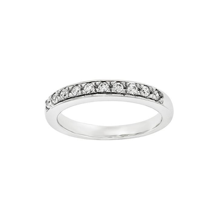 1/2 Ct. T.w. Diamond 14k White Gold Wedding Band